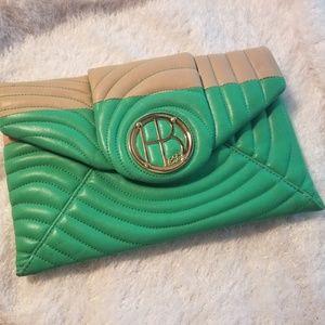 Henri Bendel No. 7 Quilted Envelope Clutch